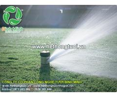 Hệ thống tưới cảnh quan, hệ thống tưới sân vườn, hệ thống tưới cây thông minh, hệ thống tưới cây phun mưa