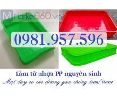 Sóng nhựa đặc cao 10cm, sóng nhựa bít cao 10cm, sóng nhựa Hs025