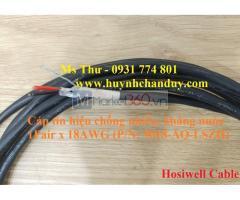Cáp tín hiệu âm thanh chống nước Hosiwell chuẩn UL
