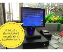 Máy tính tiền ở Nghệ An giá rẻ cho quán trà sữa