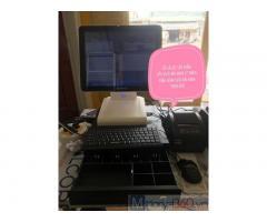 Trọn bộ máy tính tiền cho tiệm văn phòng phẩm ở Nghệ An
