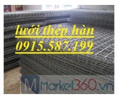 Lưới thép hàn đổ sàn bê tông d4 a150*150, a200*200