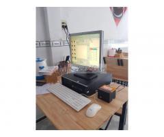 Lắp đặt trọn bộ máy tính tiền cho Quán cơm văn phòng tại Bình Định