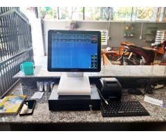 Chuyên bán trọn bộ máy tính tiền cảm ứng cho Quán Cà phê- Trà sữa ở Bến Tre