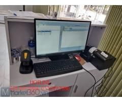 Lắp đặt trọn bộ máy tính tiền bằng mã vạch cho Shop thời trang tại Tây Ninh