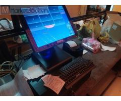 Combo máy tính tiền cảm ứng cho Quán ăn- Quán lẫu tại Sóc Trăng