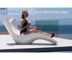 Ghế nhựa tắm nắng composite fiberglass giá rẻ