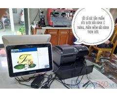 Bán máy tính tiền giá rẻ tại Bình Thuận cho quán trà sữa
