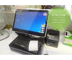 Bán máy tính tiền giá rẻ tại Bình Thuận cho salon tóc