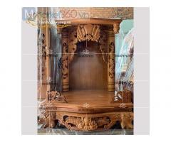 Mẫu bàn thờ ông địa-thần tài với đa dạng mẫu mã đẹp mắt