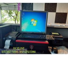Máy tính tiền trọn bộ cho quán Cà phê- Trà chanh- Kem tại Hậu Giang