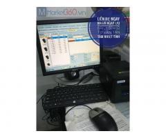 Combo máy tính tiền giá rẻ tại Hà Nội cho quán café ,sinh tố
