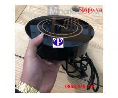 Bếp từ lẩu âm bàn tròn | bếp từ tròn mini 1200W | bếp từ lẩu nhà hàng