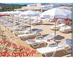 Ghế tắm nắng Grosfillex nhập Châu Âu