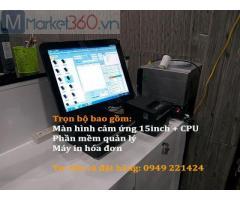 Bán máy tính tiền cho salon tóc tại Bắc Ninhgiá rẻ