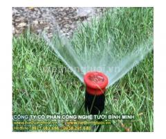 Hệ thống tưới sân vườn,béc phun tưới cỏ, béc phun tưới cây,béc phun xoay, vòi phun xoay 360 độ,tưới hẹn giờ