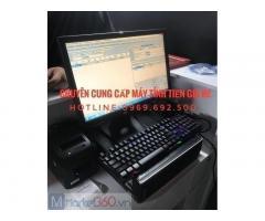 Máy tính tiền cho cửa hàng vật tư ở Quảng Ninh
