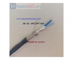 Cáp tín hiệu truyền thông công nghiệp RS485 1P 24AWG (94851B-24), Hosiwell Cable/Thái Lan