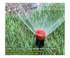 Hệ thống tưới,hệ thống tưới cây phun mưa, hệ thống tưới nước sân vườn