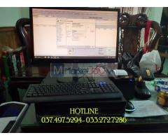 Máy tính tiền bằng mã vạch cho Cửa hàng- Shop- Tạp hóa tại Thái Bình