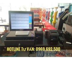 Máy tính tiền cho quán ăn ở Quảng Ngãi
