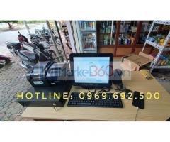 Máy tính tiền ở Quảng Ngãi cho tiệm tạp hóa