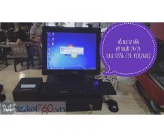 Máy tính tiền giá rẻ tại Bạc Liêu cho tiệm điểm tâm sáng