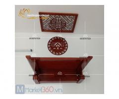 Bàn thờ treo tường đẹp với thiết kế hiện đại cùng mức giá siêu rẻ