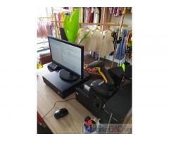 Máy tính tiền bằng mã vạch cho Shop quần áo- Giày dép- Túi xách tại Bắc Ninh