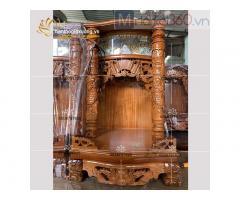 Mẫu bàn thờ Ông Địa-Thần Tài đẹp với mức giá siêu tiết kiệm