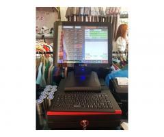 Lắp đặt máy tính tiền cảm ứng trọn bộ Shop thời trang tại Bắc Ninh