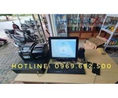 Máy tính tiền ở Hà Tĩnh cho tiệm bách hóa