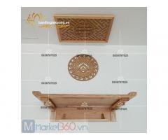 Mẫu bàn thờ treo tường đẹp với đa dạng kiểu dáng hiện đại