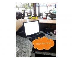 Cung cấp lắp đặt trọn bộ máy tính tiền cho quán nem rán ở Hà Tĩnh