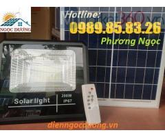 Đèn led 200W năng lượng mặt trời, đèn pha năng lượng mặt trời, đèn led pha 200w