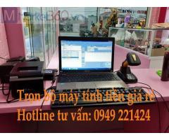 Bán máy tính tiền cho shop mỹ phẩm tại Đồng Tháp giá rẻ
