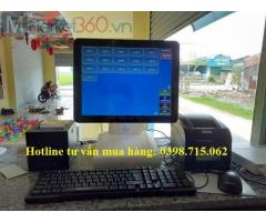Cung cấp máy tính tiền cảm ứng giá rẻ cho quán Trà Sữa tại An Biên