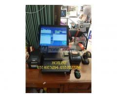 Bán máy tính tiền cảm ứng cho Cửa hàng Điện máy tại Thái Bình
