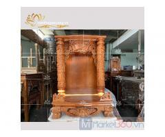 Mẫu bàn thờ Ông Địa-Thần Tài đẹp với mức giá tối ưu siêu tiết kiệm