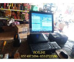 Chuyên lắp tận nơi máy tính tiền cảm ứng cho Siêu Thị Mini tại Đà Nẵng