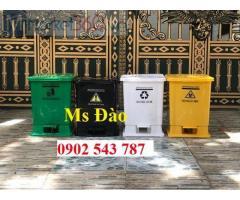 Thùng rác y tế màu đen ,thùng rác 240 lít màu đen