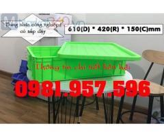 Sóng nhựa Hs007, thùng nhựa Hs007, sóng nhựa đặc cao 15cm