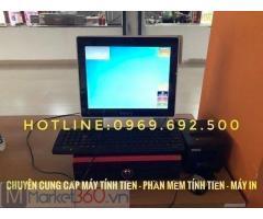 Máy tính tiền cho quán cháo ở Đắk Lắk