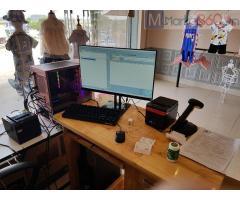 Máy tính tiền bằng mã vạch cho Shop quần áo Mẹ và bé tại Tây Ninh
