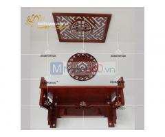 Bàn thờ treo tường hiện đại với thiết kế đơn giản đẹp mắt