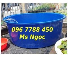 Bồn nhựa tròn nuôi cá 3000lit/1500lit/750lit giá sỉ