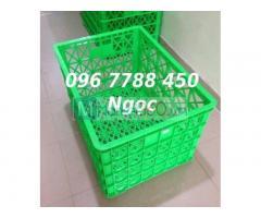 Rổ nhựa đựng trái cây, hàng hóa 5bxe/8bxe/26bxe giá sỉ