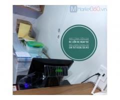 Combo máy tính tiền giá rẻ tại Đồng Tháp cho quán café ,sinh tố