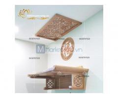 Mẫu bàn thờ treo tường hiện đại với đa dạng thiết kế đẹp mắt