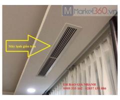Xu hướng mua máy điều hòa nối ống gió Daikin ngày càng nhiều